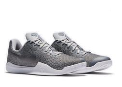 Mens Nike Kobe Mamba Instinct Sneakers New, Pure Platinum 85