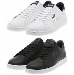 PUMA Mens Leather Sneakers Smash Perf C Athletic Tennis Clas