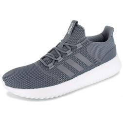 Mens Adidas NEO Cloudfoam Ultimate Grey Sneaker Athletic Sho