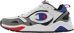 Mens Champion NXT LTHR Running Shoes Sneakers White Red Blac