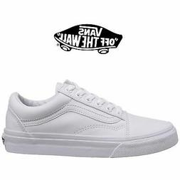 Mens Vans Old Skool Fashion Sneaker Core Classic White Canva