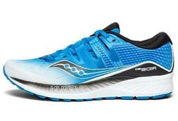 Saucony Mens Ride ISO Neutral Running Shoe Sneakers - White/