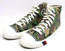 Mens PRO-KEDS Royal Hi Camo Brown PK54982 Canvas NIB Sneaker