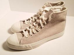 Mens Pro Keds Royal Hi Suede Sneaker Hairy Suede Beige Off W