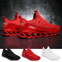 Mens Running Gym Fashion Sports Sneakers Tennis Casual Breat