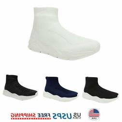 Mens Running Shoes Fashion Breathable Air Cushion Sneakers L