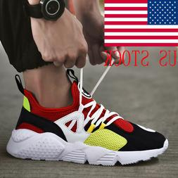 Mens Running Sneakers Size 7 8 9 10 11 Lightweight Breathabl