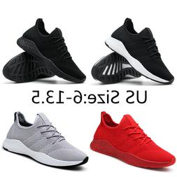 Men's Running Walking Sports Shoes Casual Breathable Athle