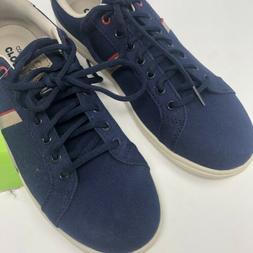 Crocs Mens Size 10 Torino Lace Up Tennis Shoe Sneaker Blue K