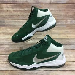 NIKE Mens Size 18 Sneakers Air Max Audacity Green White Bask