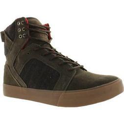 Supra Mens Skytop Suede High Top Trainers Skate Shoes Sneake
