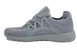 Qansi Mens Sneakers Knit Casual Outdoor Gray Size 7