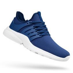 QANSI Mens Sneakers Lightweight Tennis Running Shoes Breatha
