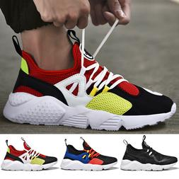 Mens Sneakers Ultralight Athletic Running Casual Walking Ten