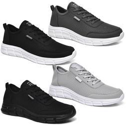 Mens Sneakers US Plus Size 6-13 Breathable Athletic Shoes Ou