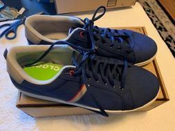 Crocs Mens Torino Lace Up Tennis Shoe Fashion Sneaker Blue P