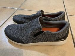 Mens crocs triple comfort slip on shoes sneakers gray size M