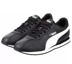 Puma Mens Turin Shoe Black Fashion Casual Sneakers  Athletic