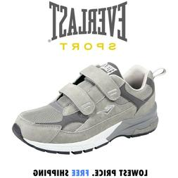Mens Everlast Sport Wide Width Athletic Velcro Running Shoes