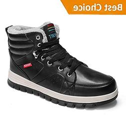 KRIMUS Mens Winter Ankle Sneaker Boots/Mens Snow Boots/High