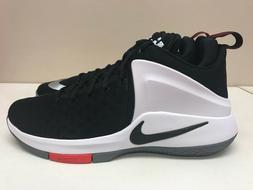 Mens Nike Zoom Witness Lebron Sneakers Black White Red 85243