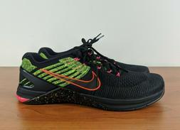 Nike Metcon DSX Flyknit Mens Sneakers Black Racer Pink Volt