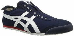 Onitsuka Tiger Mexico 66 Slip-On Classic Running Shoe, Navy/