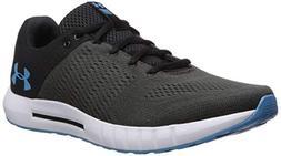 Under Armour Men's Micro G Pursuit Running Shoe, Black /Ethe