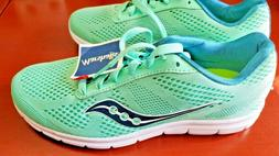 Saucony Mint Green with Teal trim running shoes / sneakers W