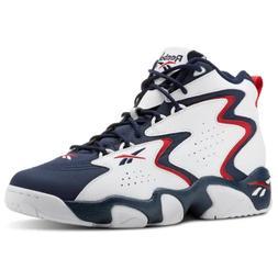 Reebok Mobius OG MU White Navy Red Men Basketball Casual SZ
