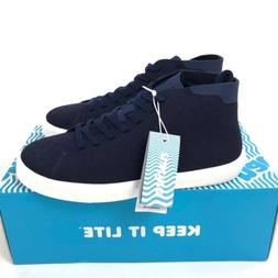 Native Monaco Mid Sneakers Regatta Blue Mens 10 Womens 12 Li