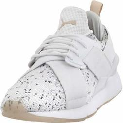 Puma Muse Solst Sneakers Casual   Sneakers White Womens - Si