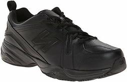 New Balance Men's MX608V4 Training Shoe,Black,10 D US