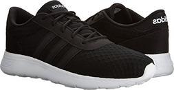 adidas NEO Women's Lite Racer W Casual Sneaker Black/White 9
