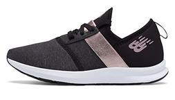 New Balance Women's Nergize V1 FuelCore Sneaker,BLACK,9 B US
