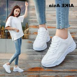 New 2018 Spring Fashion Women Casual Shoes Suede Leather Pla