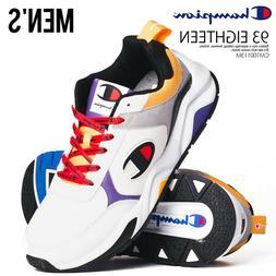 NEW Champion 93 Eighteen SP Block Low Top Sneakers Shoes CM1