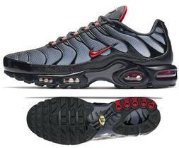 New NIKE Air Max Plus TN Men's Sneakers black gray red all s