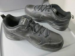 New Nike Air Monarch IV Men's Size 15 Black Training Shoes 4