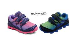 """NEW BOYS & GIRLS CHAMPION """"CONNECT 2"""" ATHLETIC SNEAKERS WITH"""