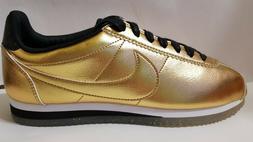 NEW Nike Classic Cortez Leather SE XLV Womens Shoes Metallic
