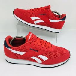 *NEW* Reebok Classic Urban  Red Suede Casual Shoes Sneakers