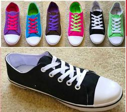 New Girls and Women's Shoes Low Top Canvas Sneakers  Multi C