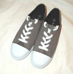 NEW Airwalk Gray Lace Up Sneakers Shoes Women's Size 8 - 8.5