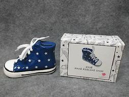 NEW IN BOX Gifts By Fashion Craft Mini Sneaker Bank w/ Stars