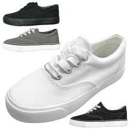 NEW Kids' Casual Canvas Lace Up Low Top Sneaker Shoes Boys G