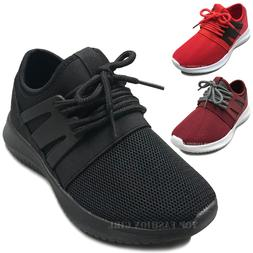 NEW Kids Mesh Sneakers Athletic Lace Up Boys Girls Tennis Sh