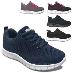 NEW Kids Sneakers Boys Girls Mesh Lace Up Sporty Tennis Shoe