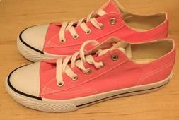NEW Airwalk Legacee Girls Pink Rose White Laceup Size 3-1/2