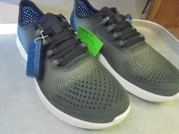 New Crocs Literide Color Dip pacer black/almost white Men's